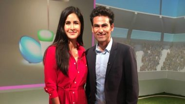 Finally the Kaifs Meet! Katrina Kaif Meets Mohammad Kaif and They Look So Cute (See Pic)