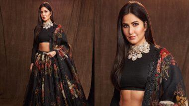 Katrina Kaif Flaunts Her Toned Abs In A Resplendent Sabyasachi Lehenga At Bharat's Screening - View Pics!