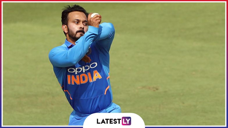 Kedar Jadhav Stats and Records: A Look at Profile of Team India All-Rounder Ahead of ICC Cricket World Cup 2019