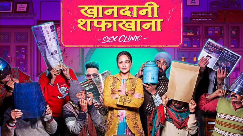 Khandaani Shafakhana First Look: Sonakshi Sinha's Sex Clinic Leaves Everyone Shy, Trailer to Be Out in Two Days!