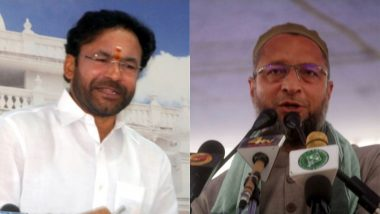 G Kishan Reddy Links Hyderabad With Terrorism, Asaduddin Owaisi Retorts
