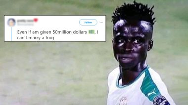 Model Tried to Troll Diatta Krepin, Calls Him Frog; Fans of Senegalese Striker Give Back With Hilarious Tweets