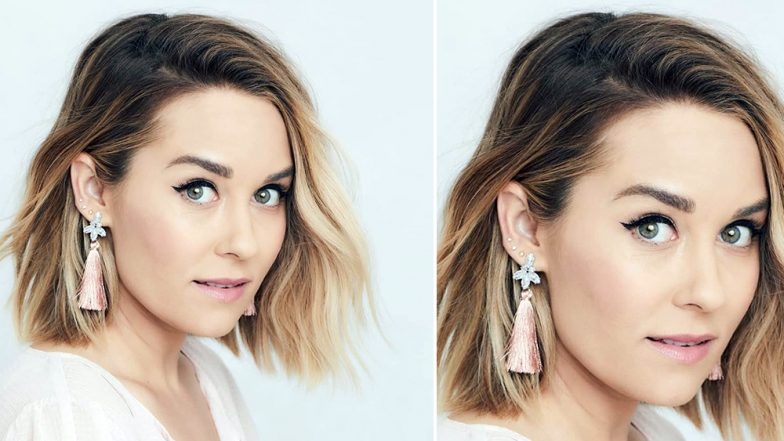 Lauren Conrad Shares Signature Winged Eyeliner Method on Facebook with Steps for Fans