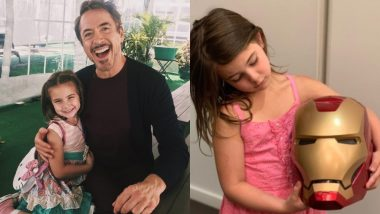 Here's A Picture Of Robert Downey Jr With His Onscreen Daughter Lexi Rabe That We Bet You'll Love 3,000!