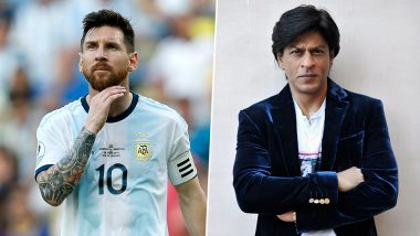 Lionel Messi Joins Shah Rukh Khan in Getting 'Dubai Star' on Dubai Walk of Fame! Check Out Tweets