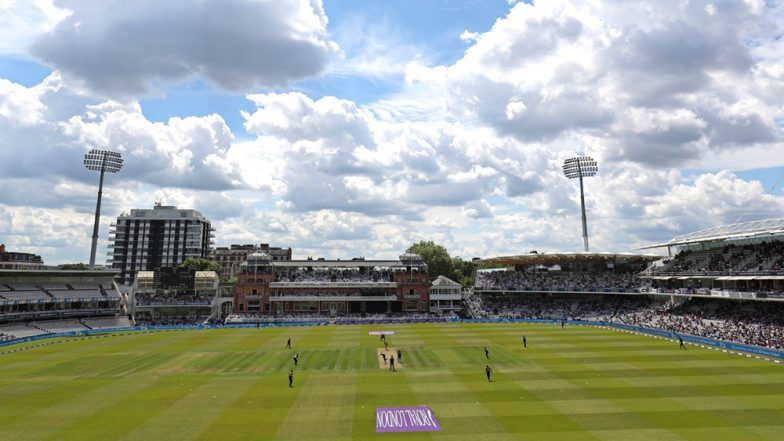 England vs Australia, Ashes 2019 2nd Test, Day 2 Rain Forecast & Weather Report From London: Check Weather Forecast and Pitch Report of Lord's Cricket Ground