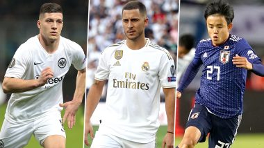 Real Madrid Transfer News: From Eden Hazard to Takefusa Kubo, Take a Look at Some of the Signings by Los Blancos for 2019–20 Football Season