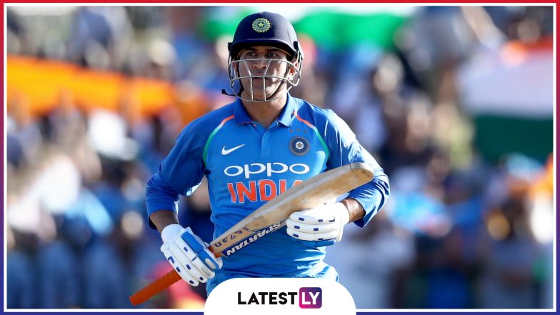 MS Dhoni Stats and Records: A Look at Profile of Indian Wicket-Keeper-Batsman Ahead of IND vs SA ICC Cricket World Cup 2019 Match