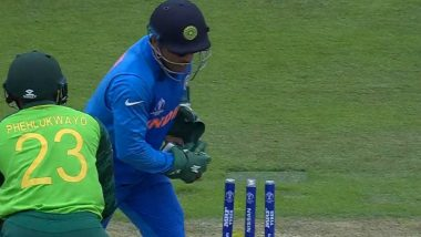 MS Dhoni Army Insignia Gloves Controversy: CoA Chief Vinod Rai Says We Will Go With the Norms Set by ICC