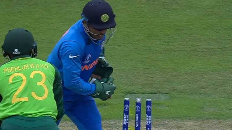 MS Dhoni in England for Cricket, Not Mahabharata, Says Pakistan Minister Over Army Insignia on Indian Wicket-Keeper's Gloves
