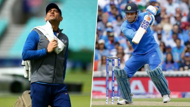 'MS Dhoni is Most Colourful Player', Say Women Fans Who Coloured Their Hair in Indian Tri-Colour During IND vs AUS, ICC CWC 2019 Match, Watch Video
