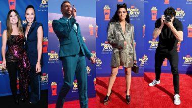 MTV Awards 2019 Red Carpet: Tessa Thompson, Brie Larson, Dwayne Johnson, Zachary Levi Bring Some Standout Fashion Choices! View Pics