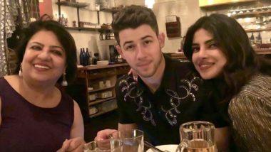 Madhu Chopra Enjoys Birthday Dinner with Priyanka Chopra Jonas and Nick Jonas in Boston!