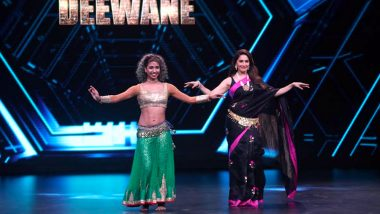 Madhuri Dixit Learns and Excels Belly Dance Moves on the Sets of Dance Deewane!