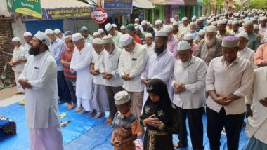 Tamil Nadu Water Crisis: After AIADMK Leaders Performed Yagnas, Madurai Muslims Offer Special Namaz for Rain