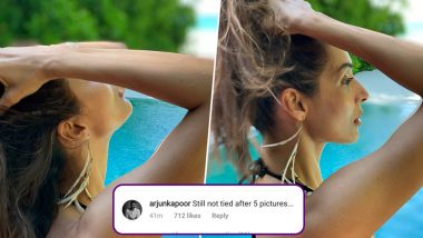 Malaika Arora Gives 'How To Tie a Ponytail' Lessons and Arjun Kapoor Hilariously Roasts Her!