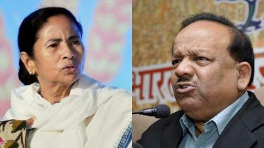 Doctors' Strike: Harsh Vardhan Writes to Mamata Banerjee, Seeks 'Personal Intervention to Resolve Current Impasse'