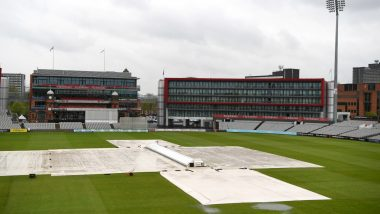 Manchester Weather Updates Live: Partly Cloudy at 11am IST | Hour by Hour Rain Forecast Ahead of India vs Pakistan CWC 2019 Match at Old Trafford Cricket Ground