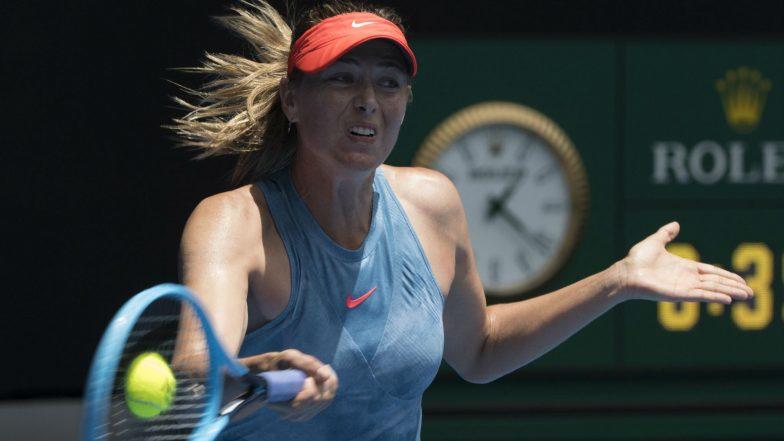 Maria Sharapova Says Ready for Mallorca Open 2019 After Shoulder Surgery