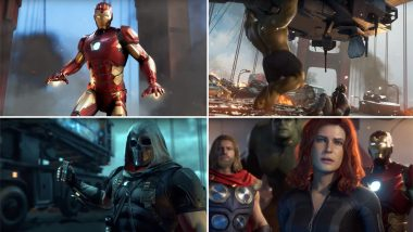 Marvel's Avengers: A-Day Game Trailer: Earth's Mightiest Heroes are Back But No Like Their MCU Versions (Watch Video)