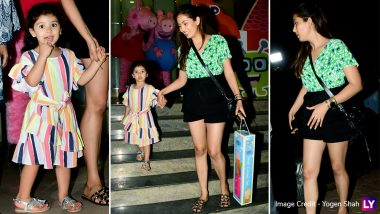 Misha Kapoor Looks Happy as Mom Mira Rajput Takes Her to Shop For 'Peppa Pig' Toys- View Adorable Pics