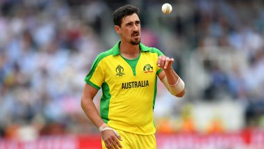 Mitchell Starc Becomes Leading Wicket-Taker in ICC CWC 2019 With 19 Scalps to His Name After Wrecking Havoc on England at Lord's