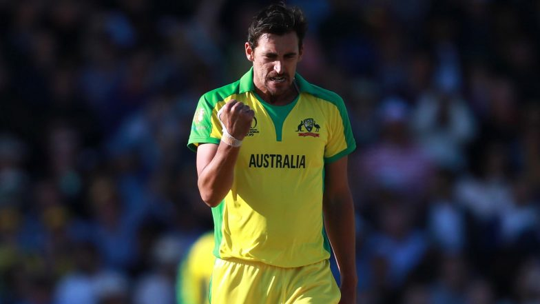 Mitchell Starc Becomes Fastest Bowler to Pick 150 ODI Wickets, Gets New Nickname From Nathan Lyon
