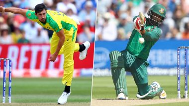 AUS vs BAN, ICC Cricket World Cup 2019: JMitchell Starc Vs Tamim Iqbal and Other Exciting Mini Battles to Watch Out for at The Trent Bridge Stadium in Nottingham