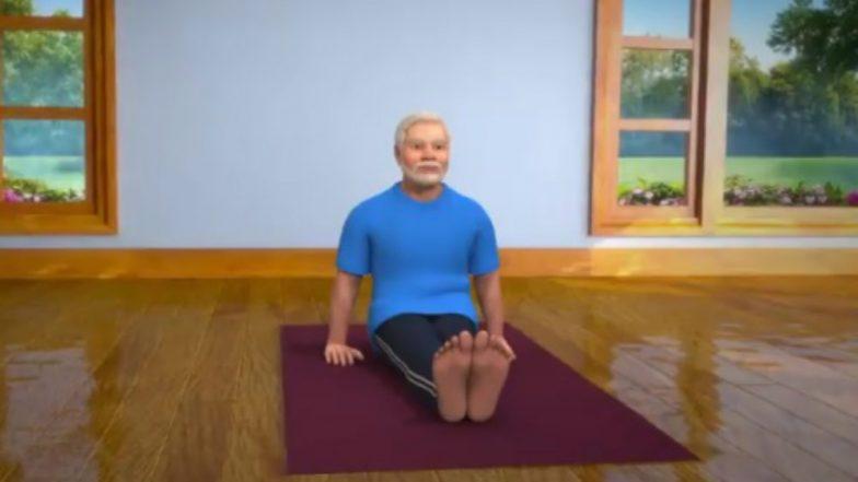 Narendra Modi Posts 'Vakrasana' Video Ahead of International Yoga Day 2019