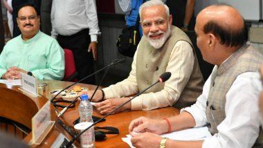 Narendra Modi Introduces Jal Shakti Ministry to Address Water Crisis, Urges Citizens to Upload Suggestions With #JanShakti4JalShakti During Mann Ki Baat