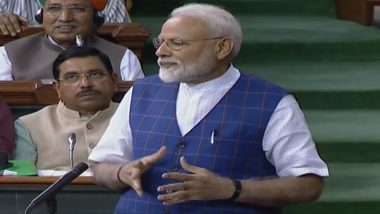 Narendra Modi Replies to Motion of Thanks on President's Address in Lok Sabha, Recalls 'Horrors of Emergency'