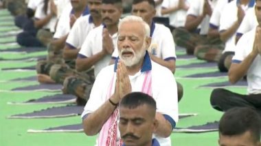 International Yoga Day 2019: PM Narendra Modi Leads Mega Event in Ranchi, Says 'Yoga is Beyond Religion and Region'