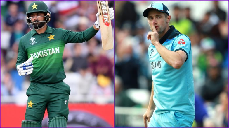 Mohammad Hafeez Departs at 84 After Chris Woakes Takes His Third Catch During PAK vs ENG Cricket World Cup 2019 Match!