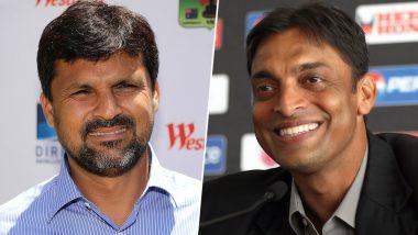 Shoaib Akhtar vs Moin Khan Over Former Pakistani Speedster's 'Fat' Remark on Captain Sarfaraz Ahmed!