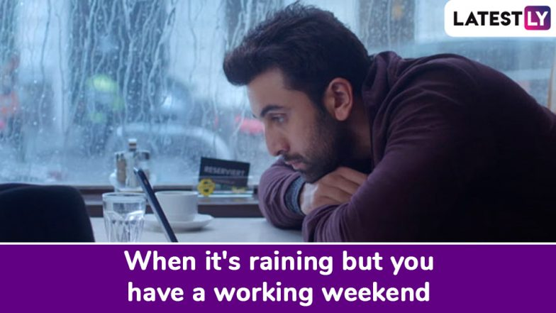 Monsoon 2019: As Mumbai Experiences its First Showers, Funny Memes Flood The Internet (Check Pics and Tweets)