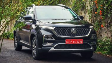 MG Hector India Launch LIVE Updates: MG Hector SUV Launched in India At Rs 12.18 Lakh