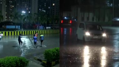 Mumbai Monsoon Update: Financial Capital, Suburbs Receive First Splash of Heavy Rains, Several Flights Diverted From Mumbai Airport