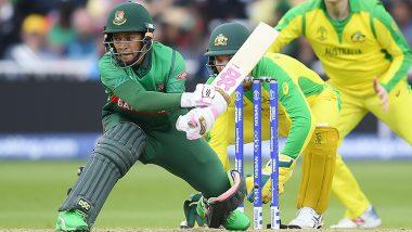 Mushfiqur Rahim Hits Fighting Century as Bangladesh Lose to Australia by 48 Runs in Cricket World Cup 2019 Match
