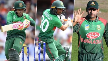 Mushfiqur Rahim, Mahmudullah and Mehidy Hasan Were Observing Ramadan Fast During BAN vs SA ICC Cricket World Cup 2019 Match