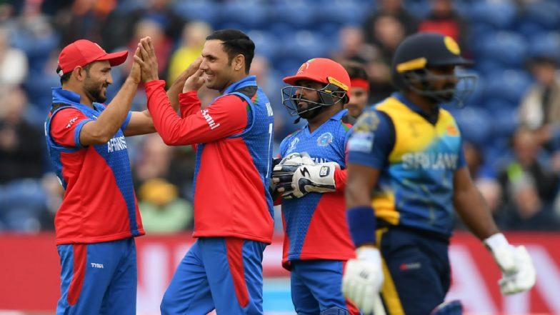 Mohammad Nabi Picks 4 Quick Wickets to Wreak Havoc for Sri Lanka Batting Line-Up in AFG vs SL Cricket World Cup 2019 Match!