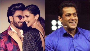 Deepika Padukone and Ranveer Singh to Appear on the First Episode of Salman Khan's Nach Baliye 9? - Read Details