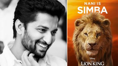 Jersey actor Nani Will Lend his Voice for Simba's Character in The Lion King's Telugu Version