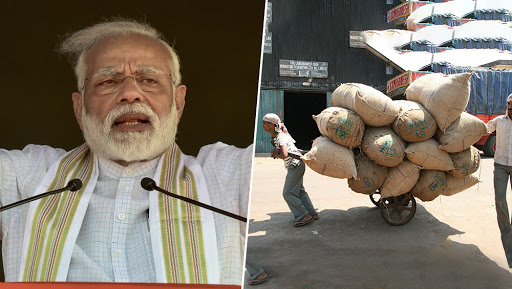 Narendra Modi Govt Mulls Major Rejig in Labour Laws; Plans to Decrease Them From 44 to 4