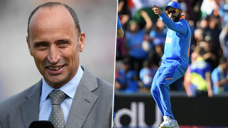Did Nasser Hussain Call Virat Kohli a 'Fool-Head' During ENG vs AUS Match For India Captain's Remark That '500' Can Be Scored in ICC CWC 2019?