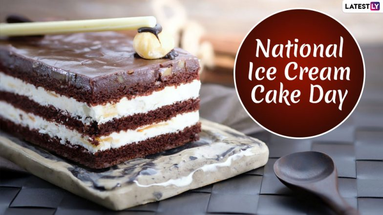 National Ice Cream Cake Day 2019: Yummilicious Pictures of the Popular Dessert To Sweeten Your Day