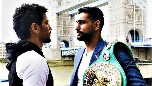 Amir Khan vs Neeraj Goyat: Pakistan-Origin Boxer Promises to Avenge Sarfaraz Ahmed's ICC Cricket World Cup 2019 Defeat Against India