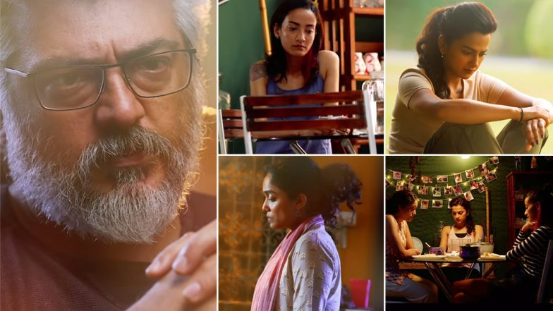 Nerkonda Paarvai Song Vaanil Irul: First Single from Ajith Starrer Crooned by Dhee Is a Beautiful Melody! Watch Video