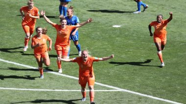 Netherlands Beat Italy by 2-0 to Reach FIFA Women's World Cup 2019 Semis for 1st Time