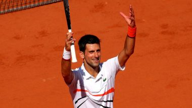Novak Djokovic vs Jan-Lennard Struff, French Open 2019 Fourth Round Live Streaming: Get Free Live Telecast Online, Match Time in IST and Channel Details in India