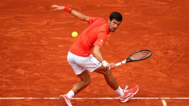 Novak Djokovic vs Salvatore Caruso, French Open 2019 Third Round Live Streaming: Get Free Live Telecast Online, Match Time in IST and Channel Details in India
